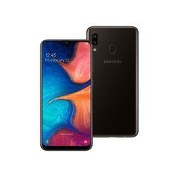 """Smartphone-Samsung-Galaxy-A20-32GB-Dual-Chip-4G-Tela-64""""-Camera-13MP-e-5MP-Frontal-8MP-Android-9_0-Preto"""