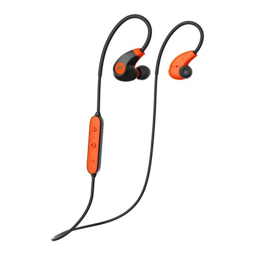 Fone-de-Ouvido-Motorola-VerveLoop-2---SH020FL-Bluetooth-Resistente-a-Agua-Preto-e-Laranja