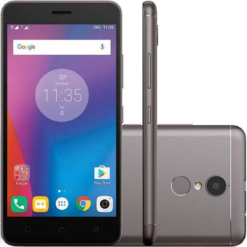 Smartphone-Lenovo-Vibe-K6-K33B36-32GB-Dual-Chip-4G-Android-6_0-Cam-13MP-Tela-5---Wi-Fi-Cinza