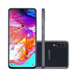 Smartphone-Samsung-Galaxy-Galaxy-A70-128GB-Dual-Chip-4G-Android-9_0-Cam-Tripla-32MP-5MP-8MP-Tela-6_7---Wi-Fi-Preto