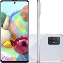 Smartphone-Samsung-Galaxy-A71-128GB-Dual-Chip-Tela-67--4G-Camera-Quadrupla-64MP-12MP-5MP-5MP-Prata