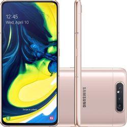 Smartphone-Samsung-Galaxy-A80-128GB-8GB-RAM-4G-Android-Cam-48P-8-ToF-Tela-6_7---Wi-Fi-Rose