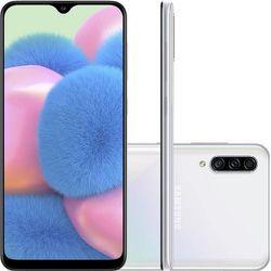 "Smartphone-Samsung-Galaxy-A30S-64GB-Dual-Chip-4G-Cam-Tripla-25Mp-5Mp-8Mp-64""-Branco"