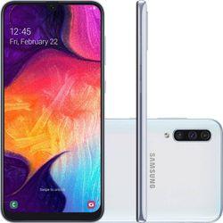 Smartphone-Samsung-Galaxy-A50-A505G-64GB-Dual-Chip-4G-Android-9_0-Cam-Tripla-25MP-Tela-6_4---Wi-Fi--Branco