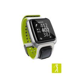 Relogio-TomTom-Golfer-com-GPS-a-Prova-d-agua-Bluetooth---Branco-e-Verde