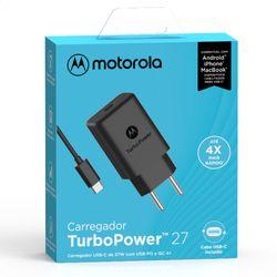 Carregador-de-Parede-Motorola-Turbo-Power-27W-100-240V-Com-Cabo-USB-Tipo-C--SC-37--Preto