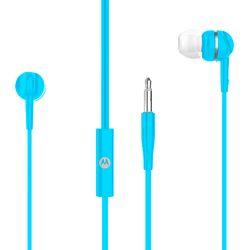 Fone-de-Ouvido-Motorola-Pace-105-PACE105BK-Intra-auricular-com-Microfone-Azul