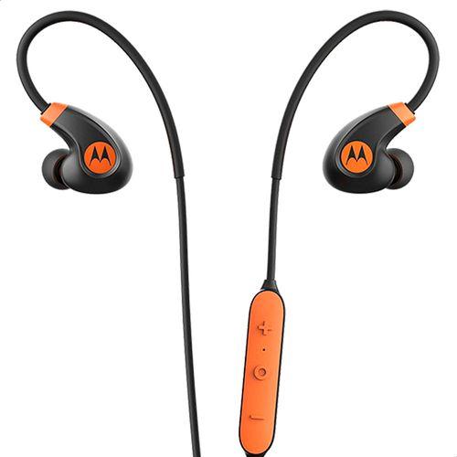 Fone-de-Ouvido-Motorola-Verve-Loop-2---SH020-Bluetooth-Resistente-a-Agua-Preto-e-Laranja
