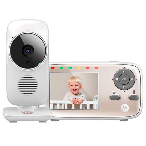 Baba-Eletronica-Motorola-MBP667-Connect-Tela-de-2_8--Zoom-digital-Visao-Noturna-Sensor-de-Temperatura-Branca