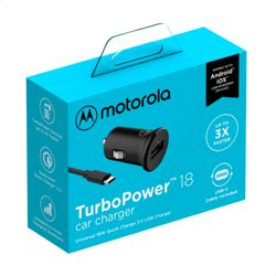 Carregador-Veicular-Motorola-Turbo-Power-18w---Com-Cabo-Usb-C---Preto