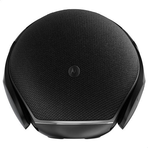 Caixa-De-Som-Motorola-Sphere-Com-Fone-De-Ouvido-Estereo-Resistente-A-Respingos-Preto