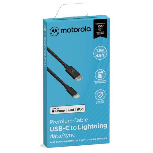 Cabo-De-Dados-Cordao-Motorola-Original-Usb-C-Para-Tipo-Lightning-De-15-Metro-Preto