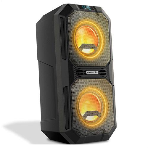 Caixa-De-Som-Bluetooth-Motorola-Sonic-Maxx-820-Estereo-Resistente-A-Respingos-Com-Duracao-De-20h-Preto