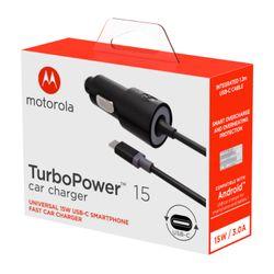 Carregador-Veicular-Motorola-Turbo-Power-15w-Com-Cabo-Usb-C-Preto