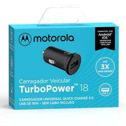 Carregador-Veicular-Motorola-Turbo-Power-18w-Sem-Cabo-Usb-Preto