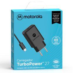 Carregador-De-Parede-Motorola-Turbo-Power-27w-Com-Cabo-Usb-C-Preto