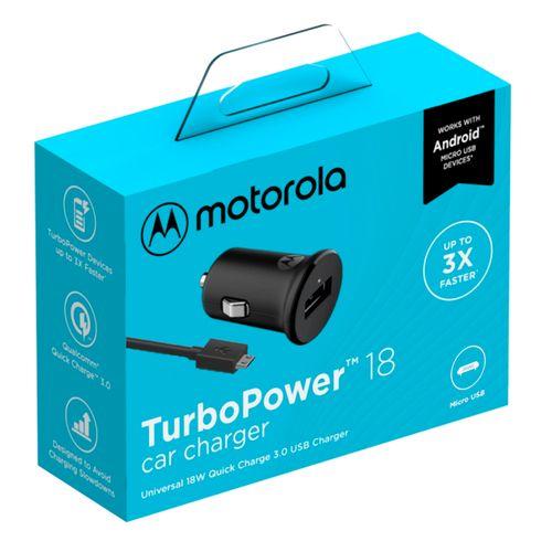 Carregador-Veicular-Motorola-Turbo-Power-18w-Com-Cabo-Micro-Usb-Preto
