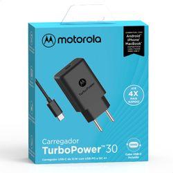 Carregador-De-Parede-Motorola-Turbo-Power-30w-Com-Cabo-Usb-C-Preto