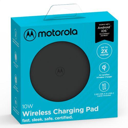 Carregador-Wireless-Sem-Fio-Motorola-10w-Com-Cabo-De-Carga-Usb-C-Preto