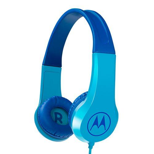 Fone-De-Ouvido-Motorola-Squad-200-Kids-Isolamento-de-ruido-Azul